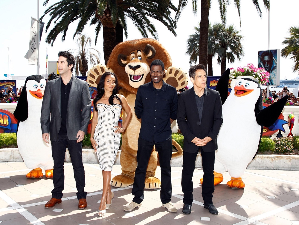 �madagascar 3 europe�s most wanted� new cannes photos and