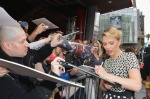 "Scarlett Johansson Of ""Marvel's The Avengers"" Honored On The Hollywood Walk Of Fame"